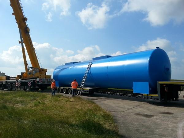 100.000l Heizöltank Dieseltank Stahltank