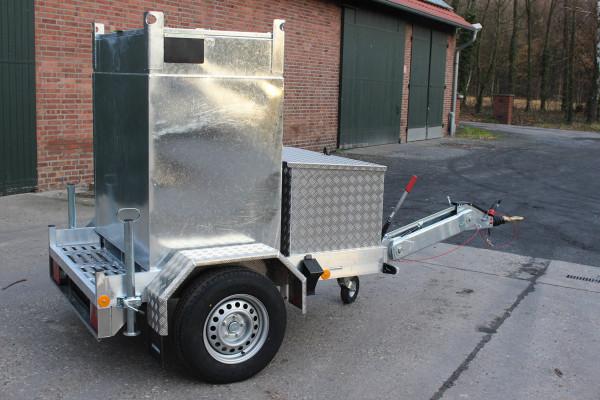Baustellentank mobil 990l mit Anhänger