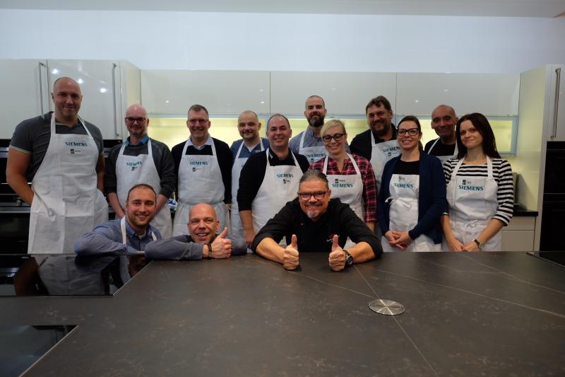 Kochevent mit Carsten Kuschel