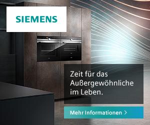Siemens Hausgeräte - für eine Welt voller Aufregender Möglichkeiten
