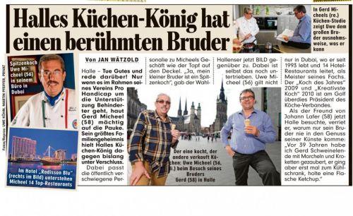 Halles Küchenkönig hat einen berühmten Bruder