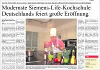 20 Jahre Gerd Micheel in Halle — Tag der offenen Tür Feierliche Eröffnung deutschlands modernster Kochschule
