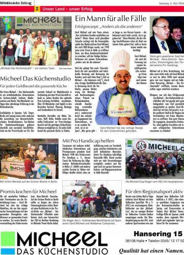 'Ein Mann für alle Fälle'  Micheel Das Küchenstudio