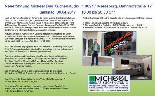 08.04.2017 Neueröffnung Micheel Das Küchenstudio in Merseburg