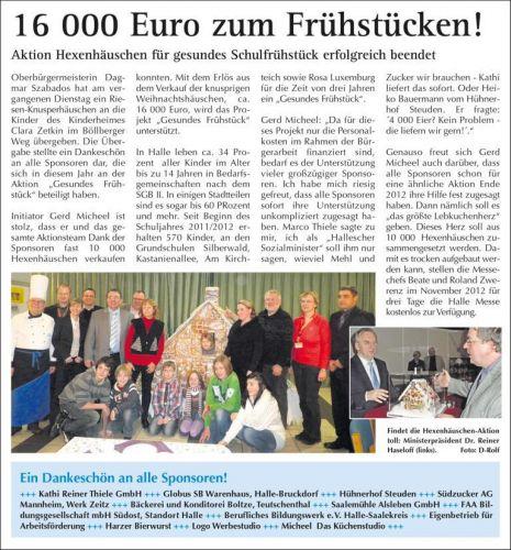 Wochenspiegel Hexenhäuschen 2011