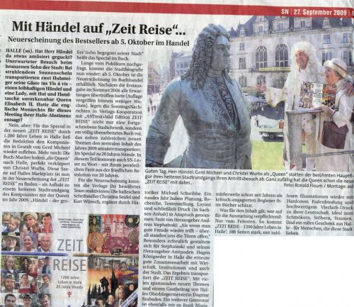WS 'Mit Händel auf Zeit Reise' September 2009