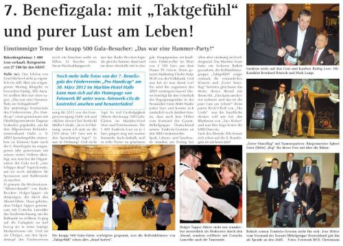 Benefizgala 2012