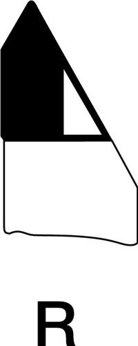 Außengewindedrehmeißel  WILKE (VPE: 5 Stück)