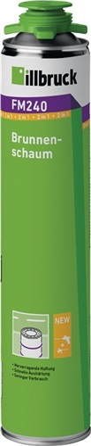 1K-Brunnenschaum FM240 ILLBRUCK (VPE: 12 Stück)