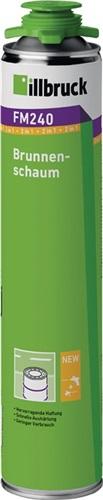 1K-Brunnenschaum B2 n.DIN 4102 Teil 1 750 ml B2 grün m.Einweghandschuhe ILLBRUCK (VPE: 12 Stück)