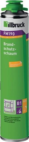 1K-Brandschutzschaum 2in1 FM190 750ml B1 (VPE: 12 Stück)