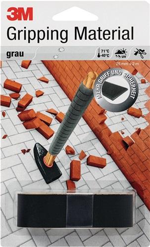 Anti-Rutsch-Band Gripping Material 25mmx2m Rolle 3M grau