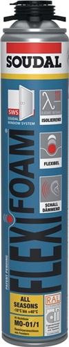 1K-Pistolenschaum FLEXI FOAM SOUDAL (VPE: 12 Stück)