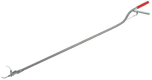 Abfallgreifzange L. 1500 mm Aluminium Greiferöffnung 65 mm