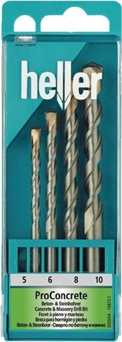 Beton-/Steinbohrersatz ProConcrete HELLER (VPE: 1 Stück)