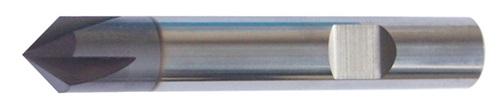 Universalentgratfräser D.4mm VHM TiAlN
