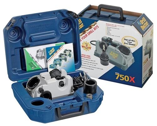 Bohrerschleifgerät Drill-Doctor DD-750X 2,5-19,0mm Spitzenwinkel 118Grad-140Grad