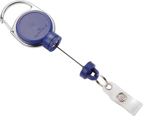 Ausweishalter ext.Stark-mit Druckknopfschlaufe Band-L.600cm grau (VPE: 5,00 Stück)