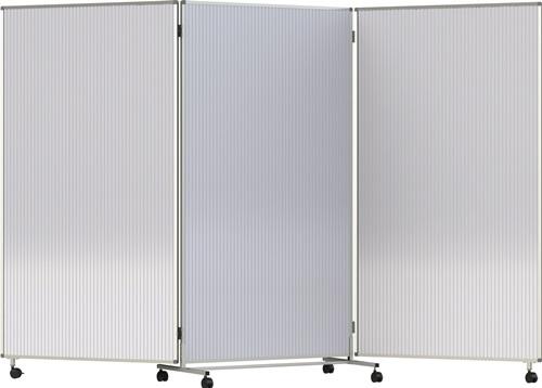 Faltwand PC transp.B1815xH1905mm (VPE: 1,00 Stück)