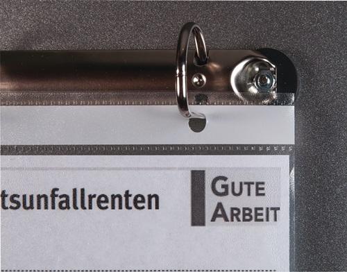 4-Ringmechanik verz.f.DIN A4 Hüllen EICHNER
