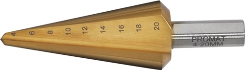Blechschälbohrer  PROMAT (VPE: 1 Stück)