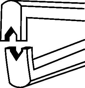 Abisolierzange  KNIPEX (VPE: 1 Stück)