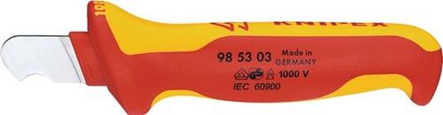 Abmantelungsmesser  KNIPEX (VPE: 1 Stück)