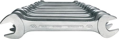 Doppelmaulschlüsselsatz 6 GEDORE (VPE: 1 Stück)