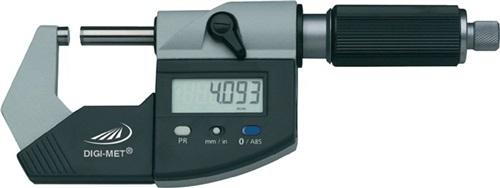 Bügelmessschraube DIN863/1 DIGI-MET 0-25mm digitalSpindel-D.6,5mm H.PREISSER