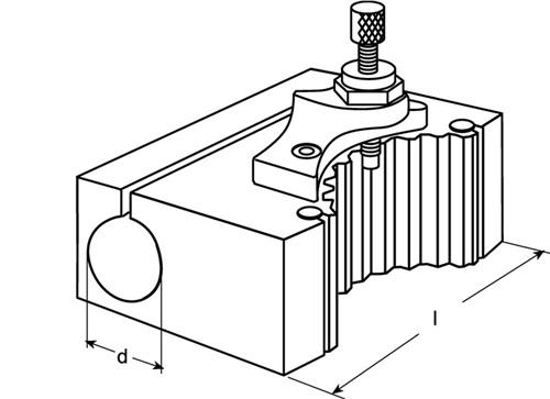 Wechselhalter  PROMAT (VPE: 1 Stück)