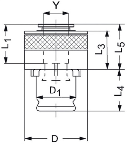 Schnellwechseleinsatz SES (VPE: 1 Stück)