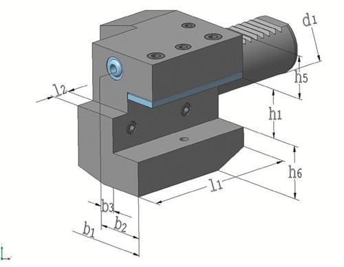 Axialwerkzeughalter Form C