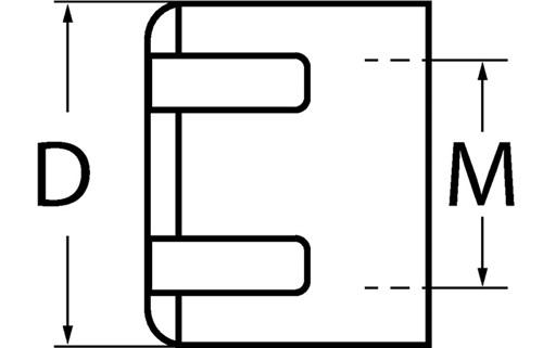 Spannmutter  PROMAT (VPE: 1 Stück)