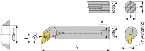 Bohrstange SDUC PROMAT (VPE: 1 Stück)