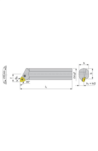 Bohrstange PWLN PROMAT (VPE: 1 Stück)