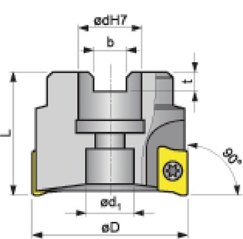 Eckfräser  PROMAT (VPE: 1 Stück)