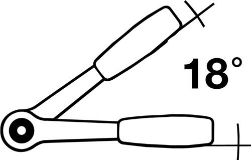 Aufsteckknarre  STAHLWILLE (VPE: 1 Stück)