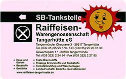 Raiffeisen Tankkarte