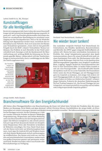 Zeitschrift 'Flüssiggas' 06/2017