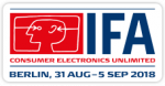 IFA 2018 in Berlin: 31. Aug. - 5. September 2018