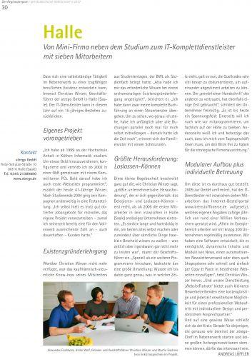 IHK-Magazin - Mitteldeutsche Wirtschaft