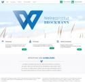 Firmenhomepage mit Websiteflat von atrego