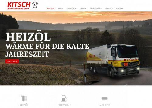 Neuer Internetauftritt der Firma Kitsch Brennstoffhandel GmbH